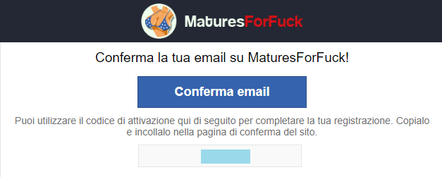 conferma email